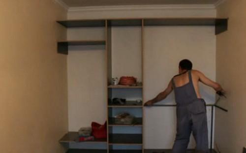 Как своими руками собрать шкаф-купе